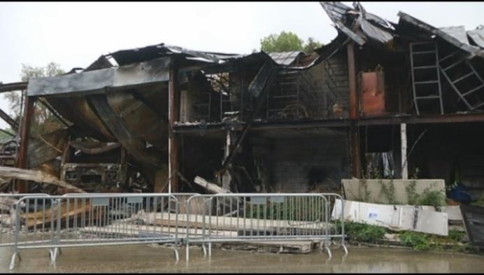 """Twee weken na brand Gebo: """"Activiteiten voor 75% weer opgestart"""""""