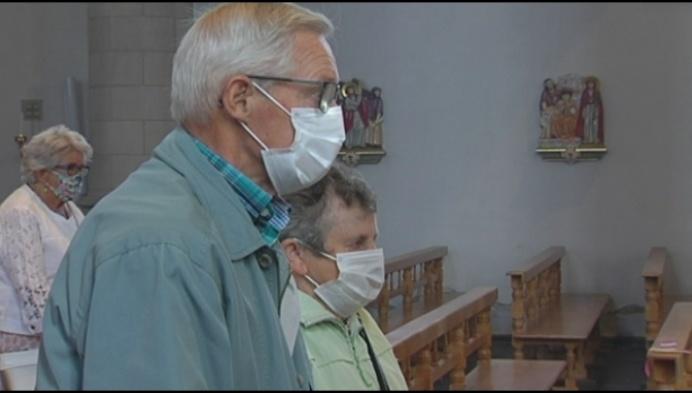 Mondmasker zorgt voor verwarring in Baarle