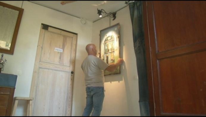Me(n)tale Schilderijen: kunstenaarskoppel stelt thuis tentoon