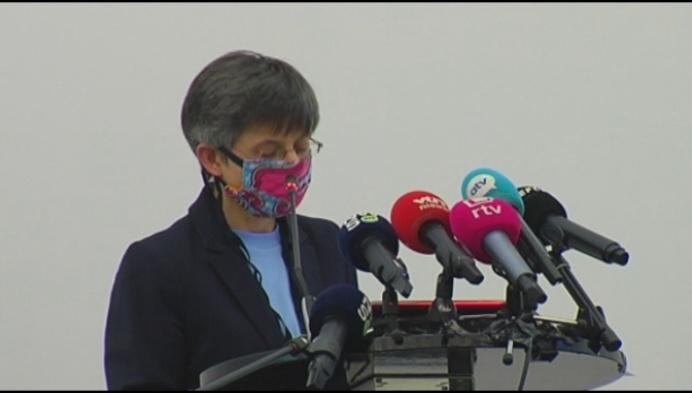Cathy Berx: versoepelingen ook in de Kempen niet aan de orde
