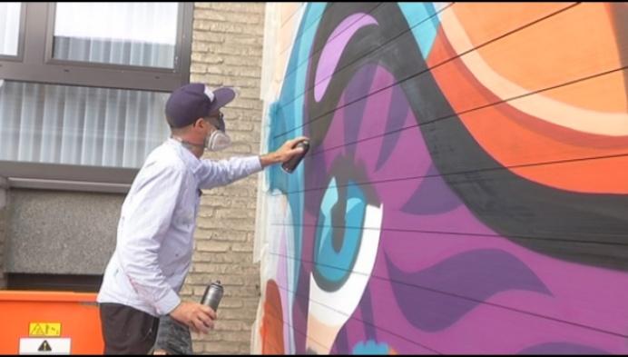 Geel krijgt 3 graffiti-kunstwerken in centrum