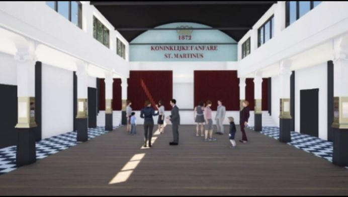 1,3 miljoen euro voor renovatie Feestzaal Sint-Martinus
