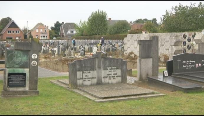 Grobbendonk lost plaatsgebrek op kerkhof op