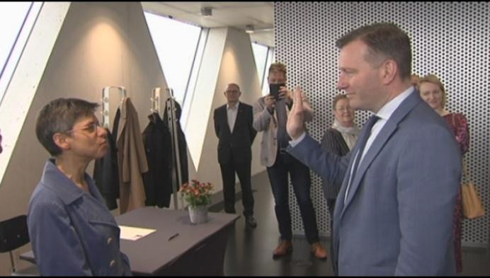Alexander Vandersmissen 1 jaar burgemeester van Mechelen