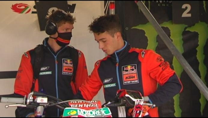 Inwijkeling Tom Vialle binnenkort wereldkampioen in de MX2?