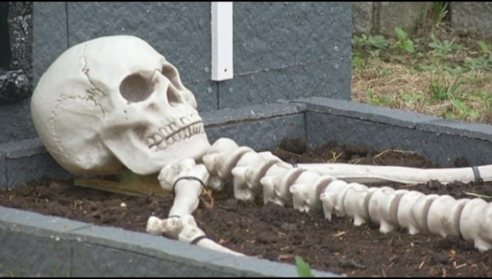 Wie durft er in dit Halloweenhuis nog wonen?
