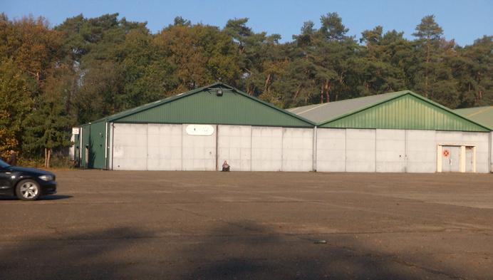 Triagecentrum op voormalig militair domein Teunenberg in Olen