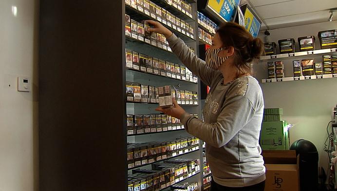 Tabakswinkels aan de grens tevreden met heropening