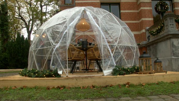 Iedereen zijn eigen bubbel op de Bubble BBQ in Herentals