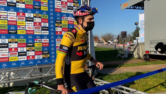 Wout Van Aert keert terug bij veldrijden met derde plaats