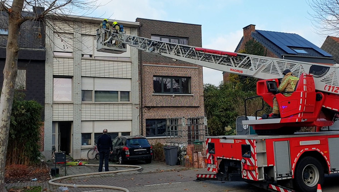 Onderzoek naar brandstichting in Herentals appartement