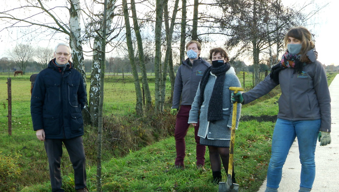 Heist-op-den-Berg plant bomen op landelijke wegen