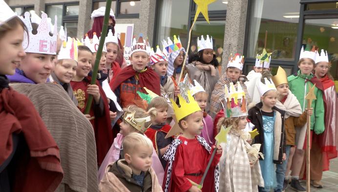 Retiese basisscholen houden 3 Koningen-traditie in leven