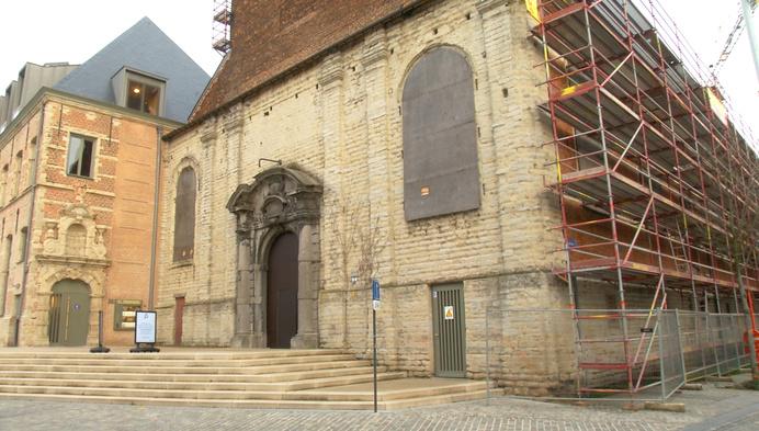 Restauratie van Predikherenkerk eindelijk van start
