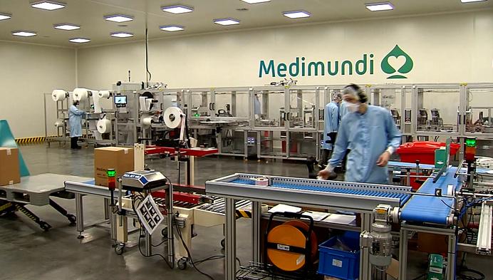 30 banen dankzij extra productie bij Medimundi in Turnhout