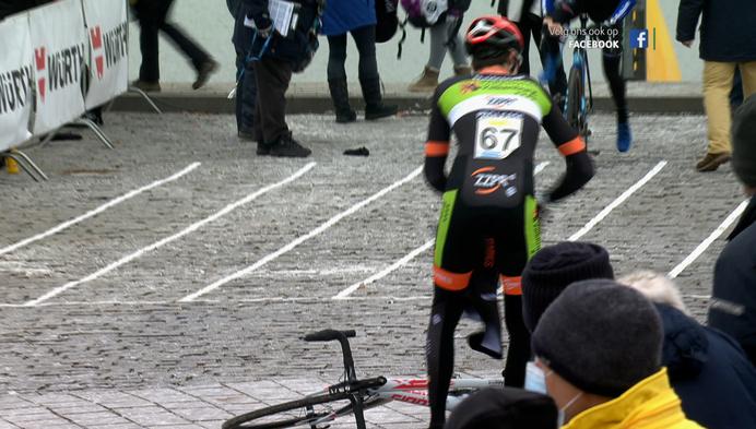 Wout van Aert wint eerste cross in Belgische driekleur