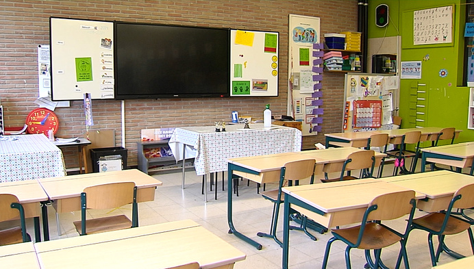 Lagere school in Hallaar week dicht na coronabesmettingen
