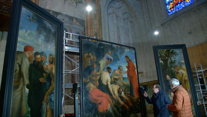 Restauratie drieluik Rubens loopt vertraging op