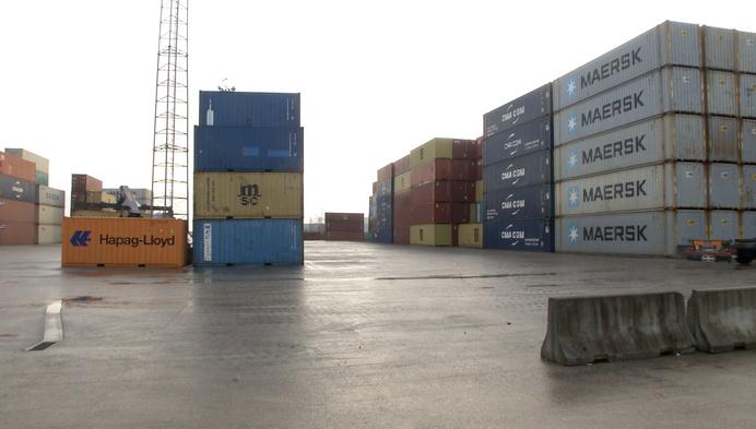 Containerterminal neemt maatregelen voor geluidsoverlast