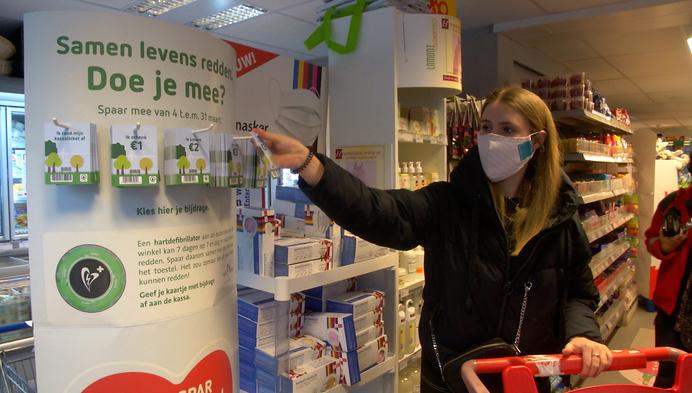 Spar Nijlen zamelt geld in voor AED-toestel