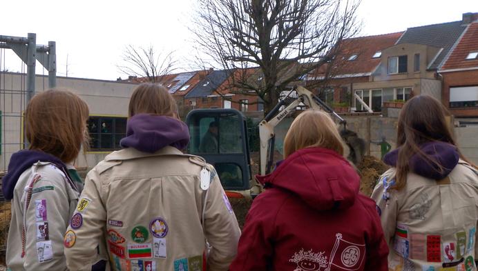 """Gidsen Sint-Godelieve bouwen nieuw lokaal:""""Ruimte voor 200 leden"""""""