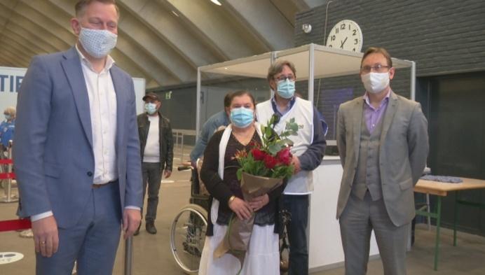 25.000ste prik in vaccinatiecentrum Mechelen gegeven
