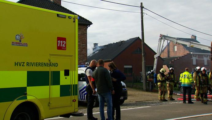 Woningbrand in Heist-op-den-Berg: voorbijganger voorkomt drama