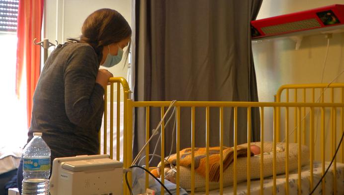 Kinderafdelingen in Kempense ziekenhuizen hebben het druk