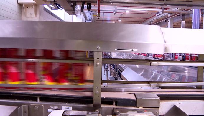 Pringles-fabriek blaast 25 kaarsjes uit