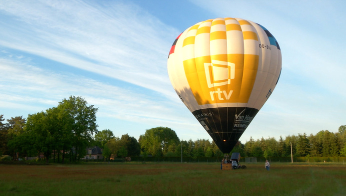 Goed weer: ballonvaarders gaan opnieuw van de grond