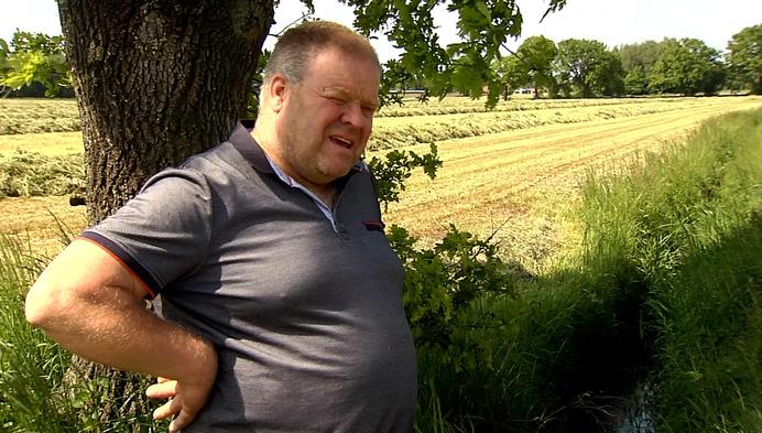 Melkveehouder is stinkend rioolwater dat door zijn landbouwgrond stroomt beu