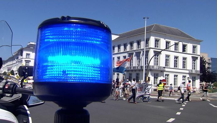 Voorpost voert actie in Mechelen