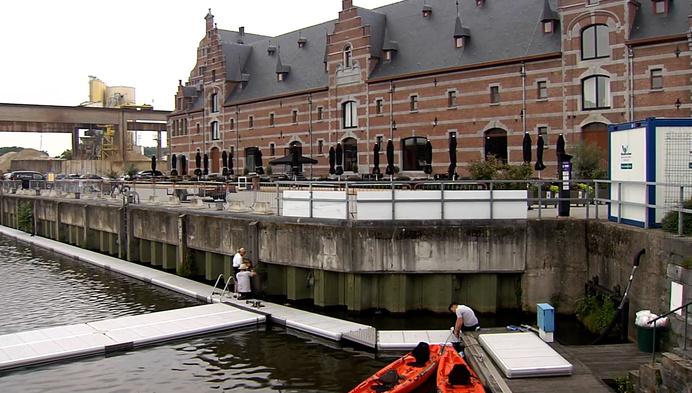 Binnenkort zwemmen in Keerdok Mechelen