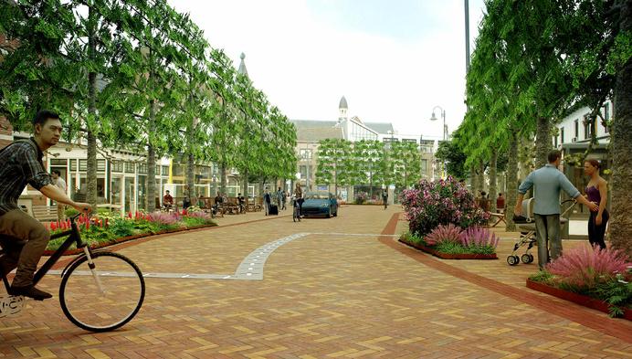 """Nieuwe ontwerpen tonen toekomst Baarle-Hertog: """"Groen en autoluwer"""""""