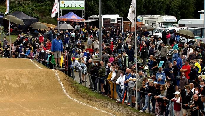 Mathijs Verhoeven en Wannes Magdelijns pakken provinciaal goud in het BMX'en