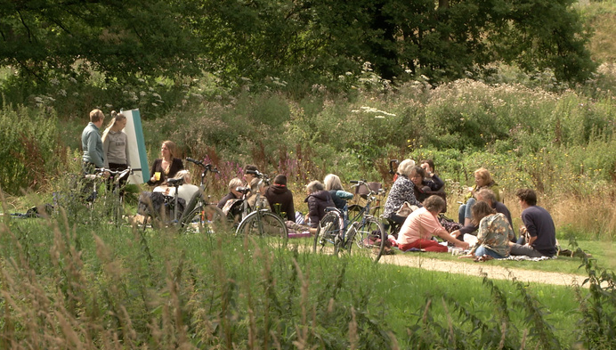 Save De Dreef: picknicken voor de bomen