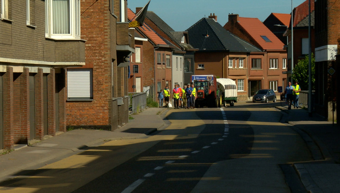 28 stappers volbrengen dan toch bedevaart naar Scherpenheuvel