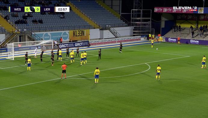 Westerlo wint derby tegen Lierse en pakt 7 op 9