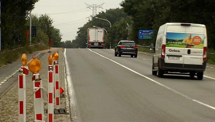 Nieuwe fietspaden op brug over E313 in Grobbendonk