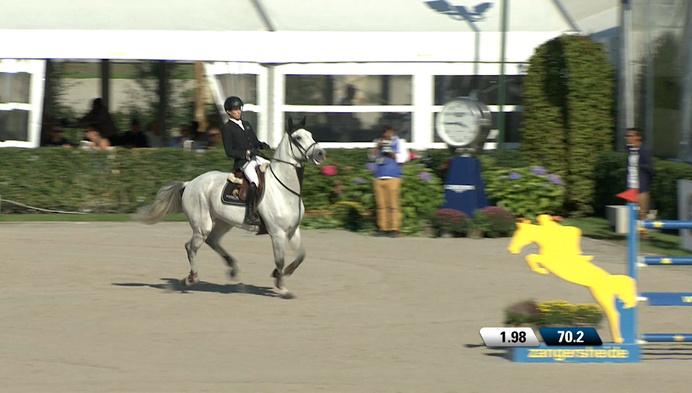 Unicum: Jos Verlooy 3de keer op rij Belgisch kampioen, met zelfde paard