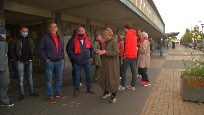 Vooruit Klein-Brabant voert actie tegen afschaffing spoorlijn