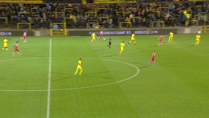 Westerlo blijft op kop in 1B, Lierse laat Moeskroen terug in de match komen