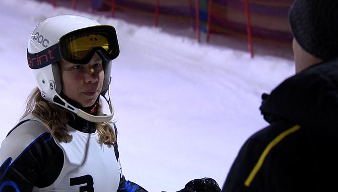 Sara Roggeman uit Katelijne wil nieuwe stap zetten in ski-carrière
