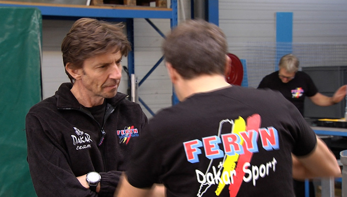Team Feryn neemt na 5 jaar opnieuw deel aan Dakar Rally