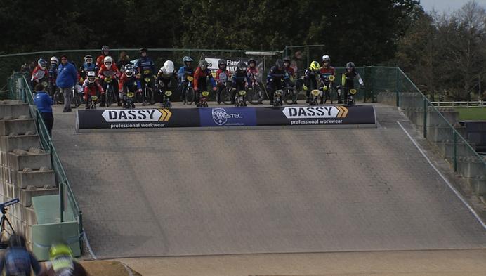 Flanders BMX series in Tongerlo trekt veel volk
